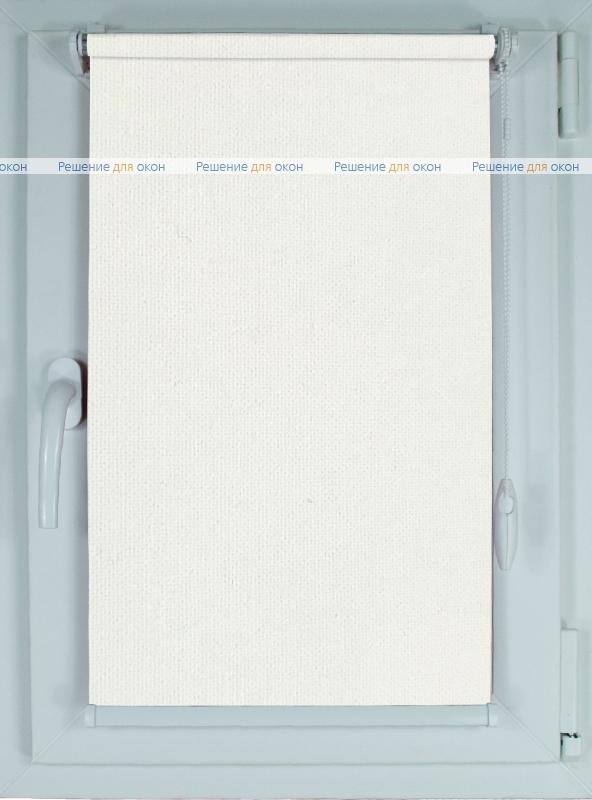 Рулонные шторы КОМПАКТ ОМЕГА Б/О белый 0225 от производителя жалюзи и рулонных штор РДО