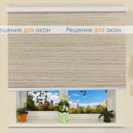 Коробные рулонные шторы РК-30 Бокс ПОРТО ПЕРЛ 7780 светло-бежевый от производителя жалюзи и рулонных штор РДО