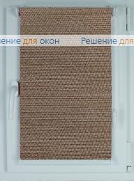 Рулонные шторы КОМПАКТ ПОРТО ПЕРЛ 7826 коричневый от производителя жалюзи и рулонных штор РДО