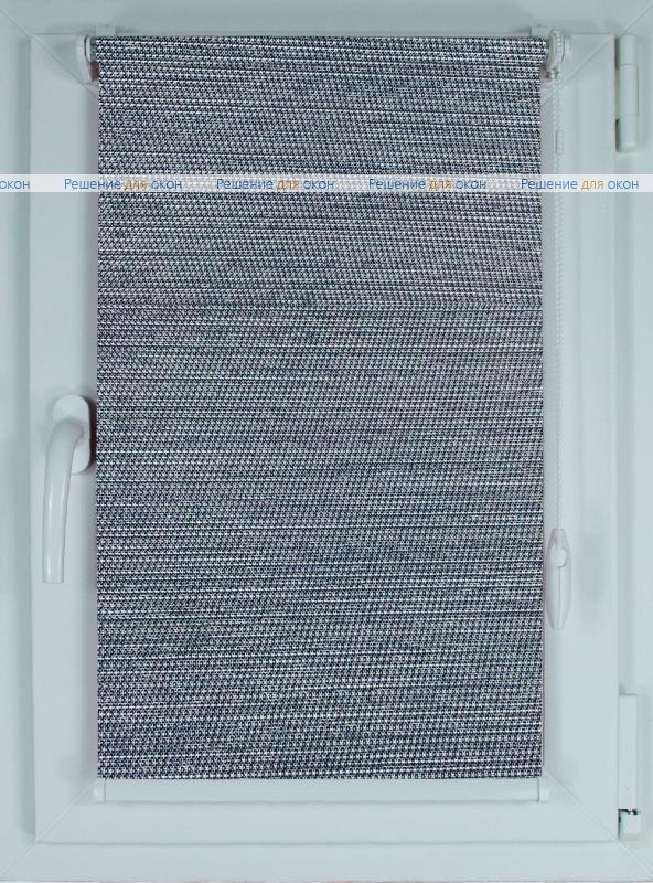 Рулонные шторы КОМПАКТ ПОРТО ПЕРЛ 8263 синий от производителя жалюзи и рулонных штор РДО