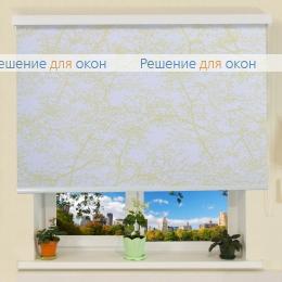 Коробные рулонные шторы РК-30 Бокс СПРИНГ САТИН 701 желтный от производителя жалюзи и рулонных штор РДО