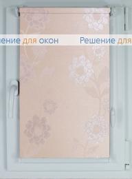 Рулонные шторы КОМПАКТ ВАЛЕНСИЯ Б/О 04 персик от производителя жалюзи и рулонных штор РДО