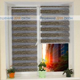Компакт Зебра на створку окна, Компакт Зебра АКСИ 6 от производителя жалюзи и рулонных штор РДО