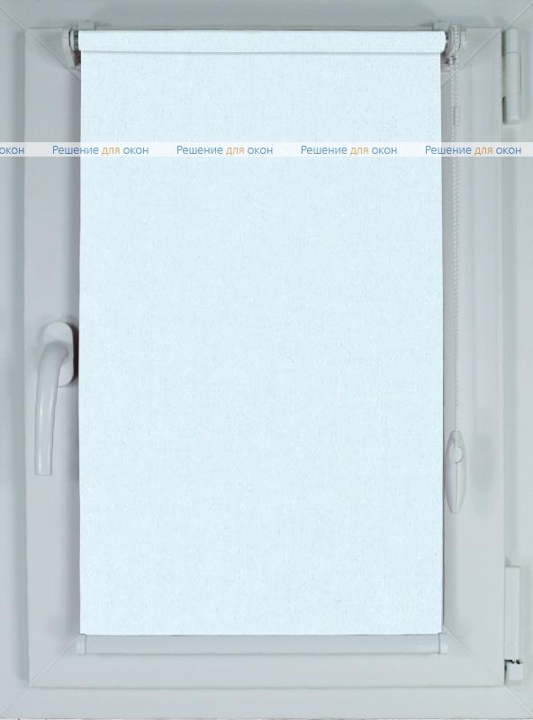 Рулонные шторы КОМПАКТ АЛЛЕГРО 1000 белый от производителя жалюзи и рулонных штор РДО