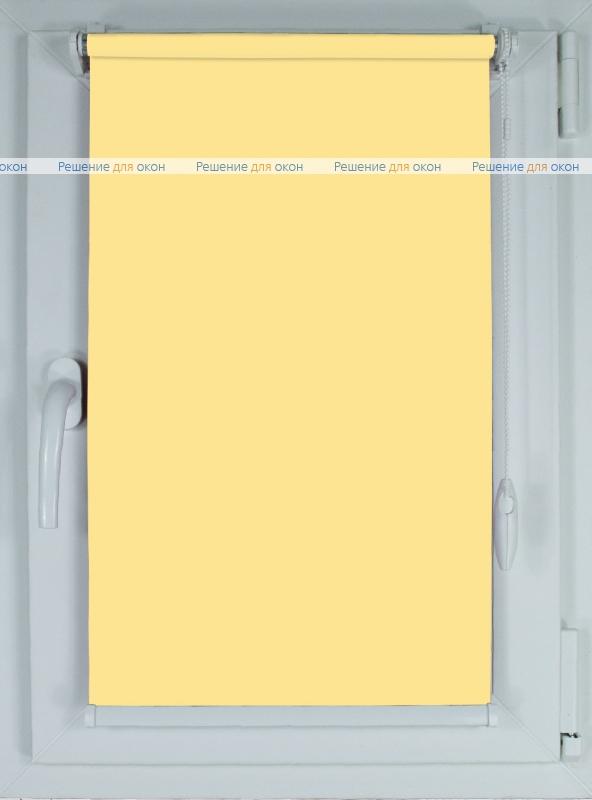 Рулонные шторы КОМПАКТ АЛЛЕГРО 1040 светло-песочный от производителя жалюзи и рулонных штор РДО