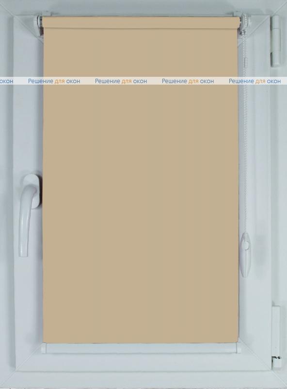 Рулонные шторы КОМПАКТ АЛЛЕГРО 1060 кремовый хаки от производителя жалюзи и рулонных штор РДО