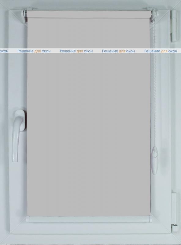 Рулонные шторы КОМПАКТ АЛЛЕГРО 1070 светло-серый от производителя жалюзи и рулонных штор РДО