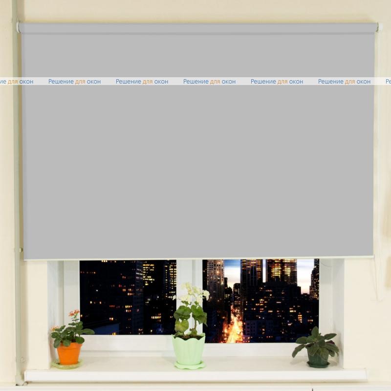 Рулонные шторы РТ-40 АЛЛЕГРО 1070 светло-серый от производителя жалюзи и рулонных штор РДО