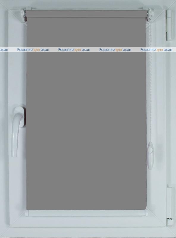 Рулонные шторы КОМПАКТ АЛЛЕГРО 1080 (250 см) серый от производителя жалюзи и рулонных штор РДО