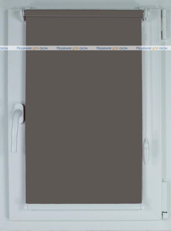 Рулонные шторы КОМПАКТ АЛЛЕГРО 1090 темно-серый от производителя жалюзи и рулонных штор РДО