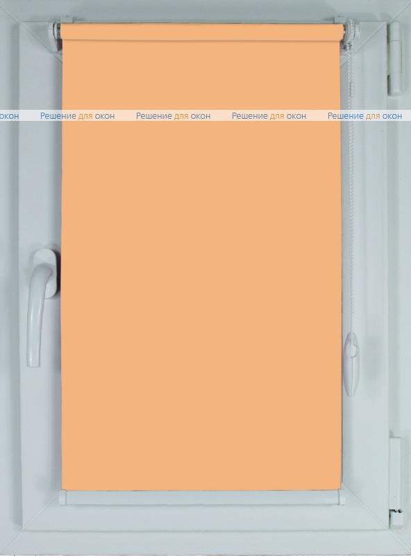 Рулонные шторы КОМПАКТ АЛЛЕГРО 1100 (250 см) светло-персиковый от производителя жалюзи и рулонных штор РДО