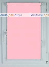 Рулонные шторы КОМПАКТ АЛЛЕГРО 1130 розовый от производителя жалюзи и рулонных штор РДО