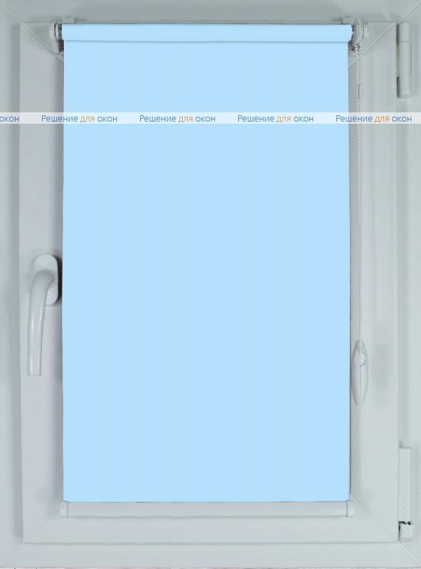 Рулонные шторы КОМПАКТ АЛЛЕГРО 1150 светло-голубой от производителя жалюзи и рулонных штор РДО