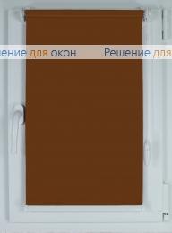 Рулонные шторы КОМПАКТ АЛЛЕГРО 1180 коричневый от производителя жалюзи и рулонных штор РДО