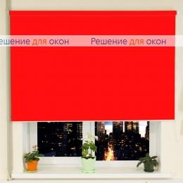 РТ-40 для проема, Рулонные шторы РТ-40 АЛЛЕГРО 1200 красный от производителя жалюзи и рулонных штор РДО