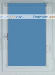 Рулонные шторы КОМПАКТ АЛЛЕГРО 1220 темно-голубой от производителя жалюзи и рулонных штор РДО