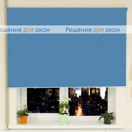 РТ-40 для проема, Рулонные шторы РТ-40 АЛЛЕГРО 1220 темно-голубой от производителя жалюзи и рулонных штор РДО