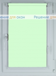 Рулонные шторы КОМПАКТ АЛЛЕГРО 1240 бледно-салатовый от производителя жалюзи и рулонных штор РДО
