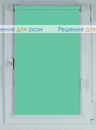 Рулонные шторы КОМПАКТ АЛЛЕГРО 1250 мята от производителя жалюзи и рулонных штор РДО