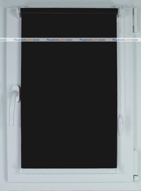 Рулонные шторы КОМПАКТ АЛЛЕГРО 5000 черный от производителя жалюзи и рулонных штор РДО