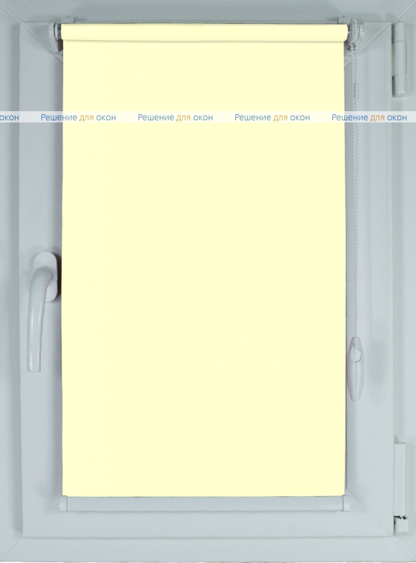Рулонные шторы КОМПАКТ АЛЛЕГРО XXL 2326 кремовый от производителя жалюзи и рулонных штор РДО