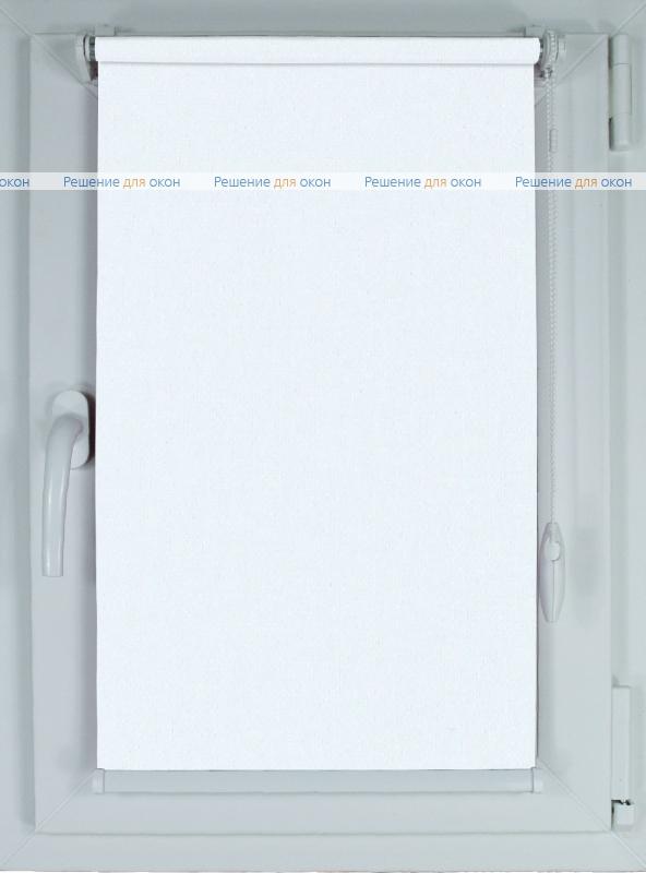 Рулонные шторы КОМПАКТ АЛЛЕГРО Б/О 1000 белый от производителя жалюзи и рулонных штор РДО
