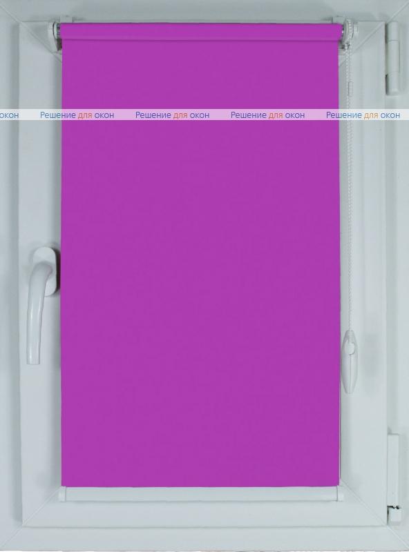 Рулонные шторы КОМПАКТ АЛЛЕГРО Б/О 1160 орхидея от производителя жалюзи и рулонных штор РДО