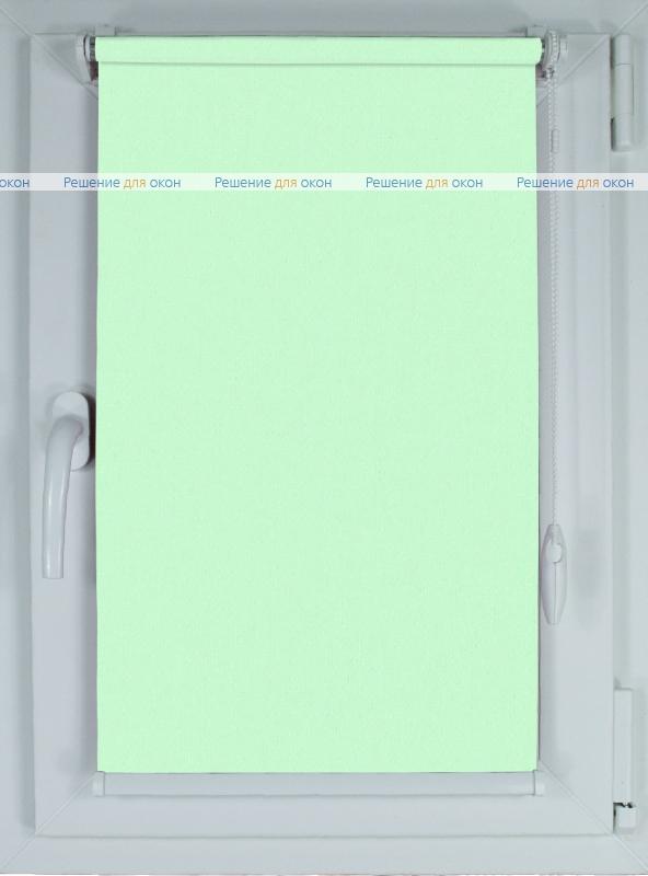 Рулонные шторы КОМПАКТ АЛЛЕГРО Б/О 1240 бледно-салатовый от производителя жалюзи и рулонных штор РДО