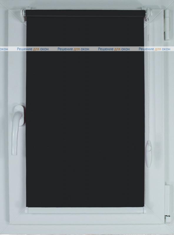 Рулонные шторы КОМПАКТ АЛЛЕГРО Б/О 5000 черный от производителя жалюзи и рулонных штор РДО
