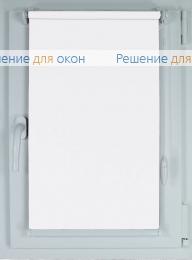 Рулонные шторы КОМПАКТ АЛЛЕГРО ПЕРЛ 0100 белый от производителя жалюзи и рулонных штор РДО