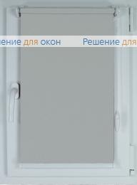 Рулонные шторы КОМПАКТ АЛЛЕГРО ПЕРЛ 1000 серый от производителя жалюзи и рулонных штор РДО