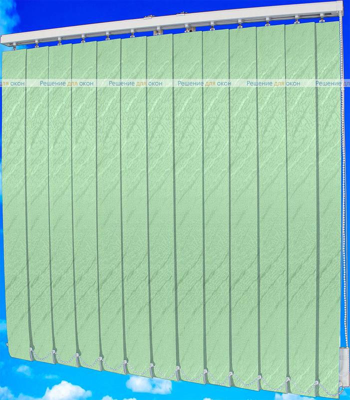 Жалюзи вертикальные АРИЕЛЬ 081 зеленый от производителя жалюзи и рулонных штор РДО