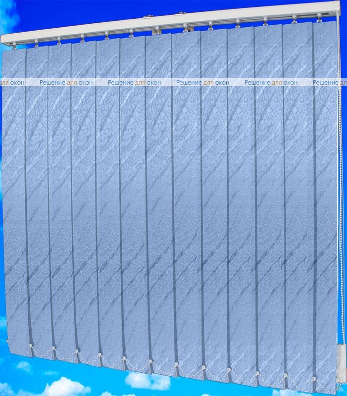 Жалюзи вертикальные АРИЕЛЬ 101 голубой от производителя жалюзи и рулонных штор РДО