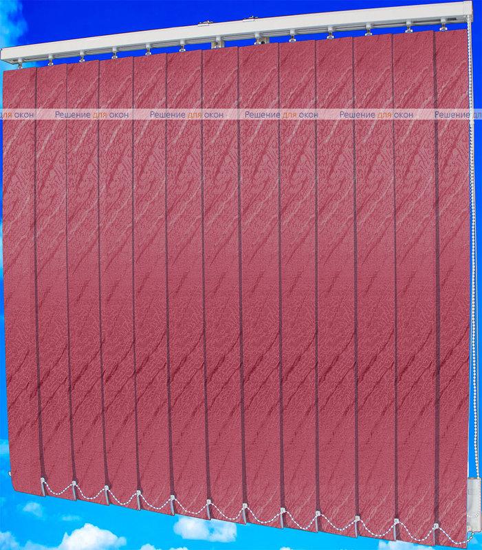 Жалюзи вертикальные АРИЕЛЬ 4201 малина от производителя жалюзи и рулонных штор РДО