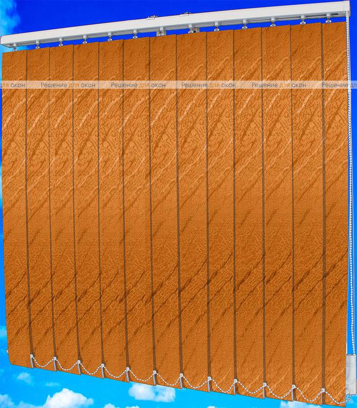 Жалюзи вертикальные АРИЕЛЬ 4290 апельсин от производителя жалюзи и рулонных штор РДО
