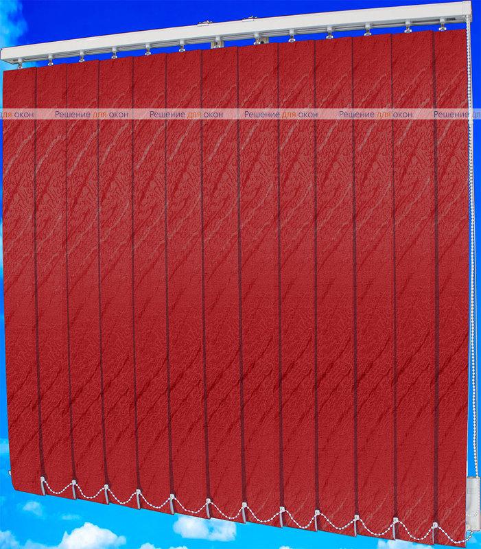 Жалюзи вертикальные АРИЕЛЬ 4454 т.красный от производителя жалюзи и рулонных штор РДО