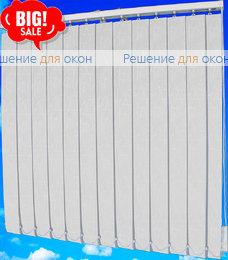 Жалюзи вертикальные БАНСАЙ 41 белый от производителя жалюзи и рулонных штор РДО