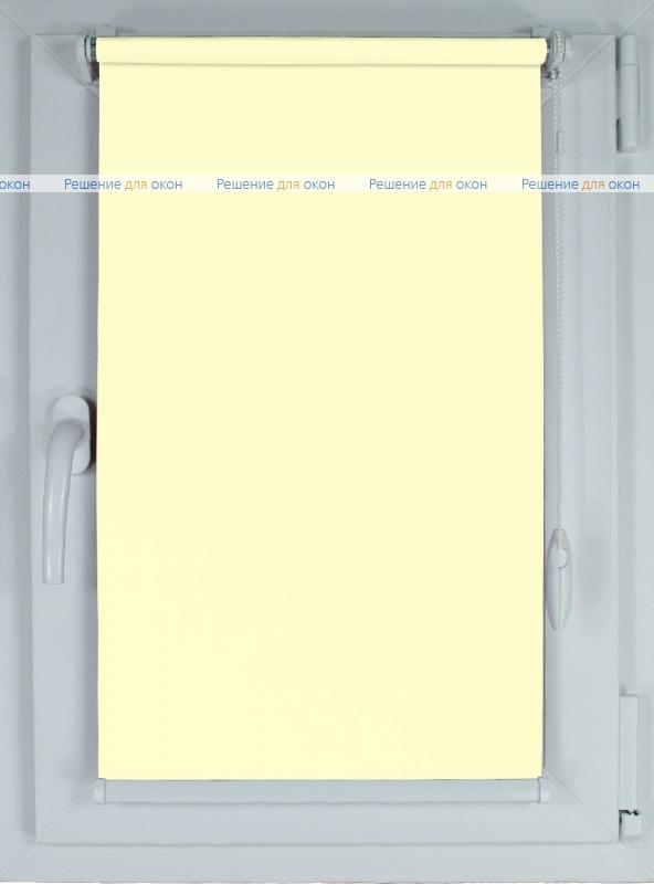 Рулонные шторы КОМПАКТ БЕРЛИН Б/О 052 светло-бежевый от производителя жалюзи и рулонных штор РДО