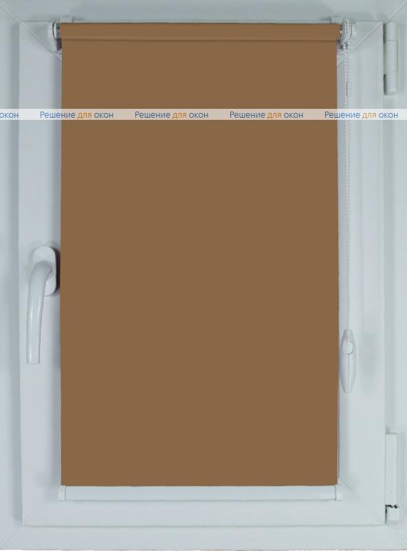 Рулонные шторы КОМПАКТ БЕРЛИН Б/О 204 экрю от производителя жалюзи и рулонных штор РДО