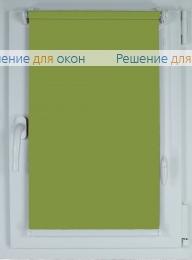 Рулонные шторы КОМПАКТ БЕРЛИН Б/О 205 фисташковый от производителя жалюзи и рулонных штор РДО