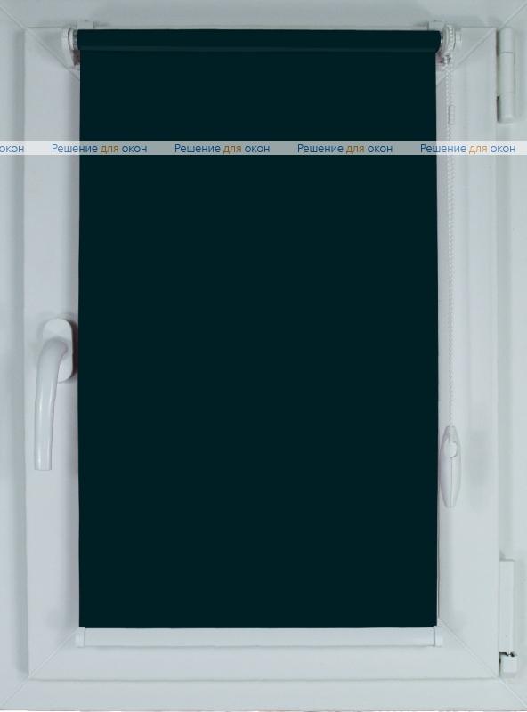 Рулонные шторы КОМПАКТ БЕРЛИН Б/О 207 антрацит от производителя жалюзи и рулонных штор РДО