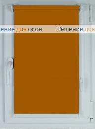 Рулонные шторы КОМПАКТ БЕРЛИН Б/О 212 темно-золотисто-коричневый от производителя жалюзи и рулонных штор РДО