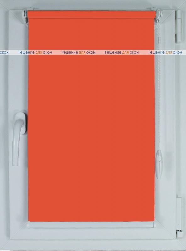 Рулонные шторы КОМПАКТ БЕРЛИН Б/О 214 лососевый от производителя жалюзи и рулонных штор РДО