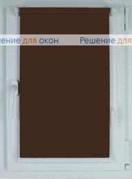 Рулонные шторы КОМПАКТ БЕРЛИН Б/О 216 темно-коричневый от производителя жалюзи и рулонных штор РДО