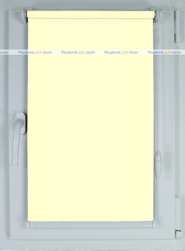 Рулонные шторы КОМПАКТ БЕРЛИН СИЛЬВЕР 056 слоновой кости от производителя жалюзи и рулонных штор РДО