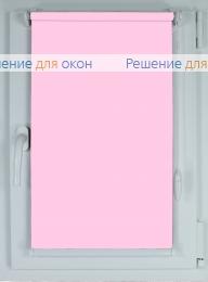 Рулонные шторы КОМПАКТ БЕРЛИН СИЛЬВЕР XL 062 светло-розовый от производителя жалюзи и рулонных штор РДО