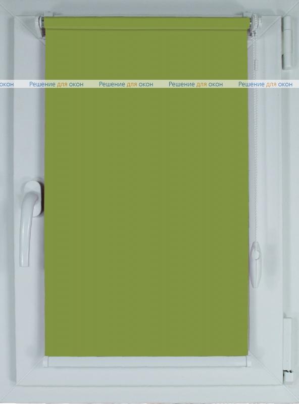 Рулонные шторы КОМПАКТ БЕРЛИН СИЛЬВЕР XL 067 фисташковый от производителя жалюзи и рулонных штор РДО