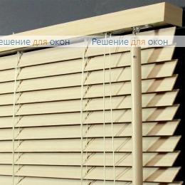 Жалюзи горизонтальные 25 мм, арт. Bleached White  бамбук от производителя жалюзи и рулонных штор РДО