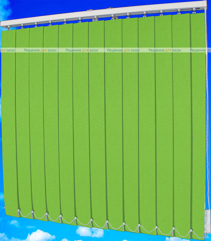 Жалюзи вертикальные БЛИЗЗАРД  081 зеленый от производителя жалюзи и рулонных штор РДО