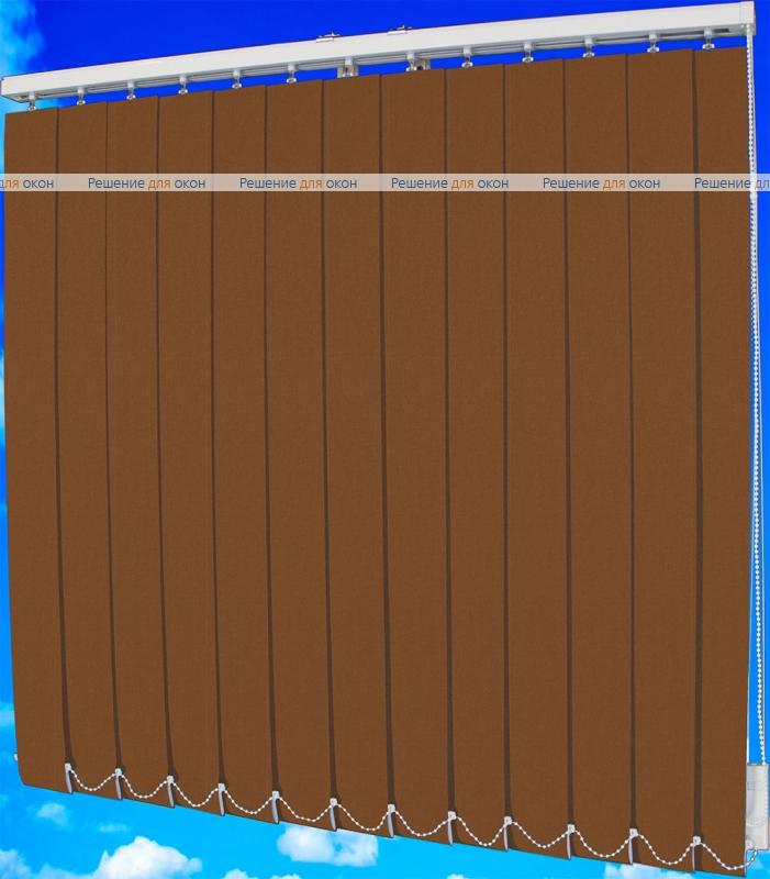 Жалюзи вертикальные БЛИЗЗАРД  2865 мокко от производителя жалюзи и рулонных штор РДО